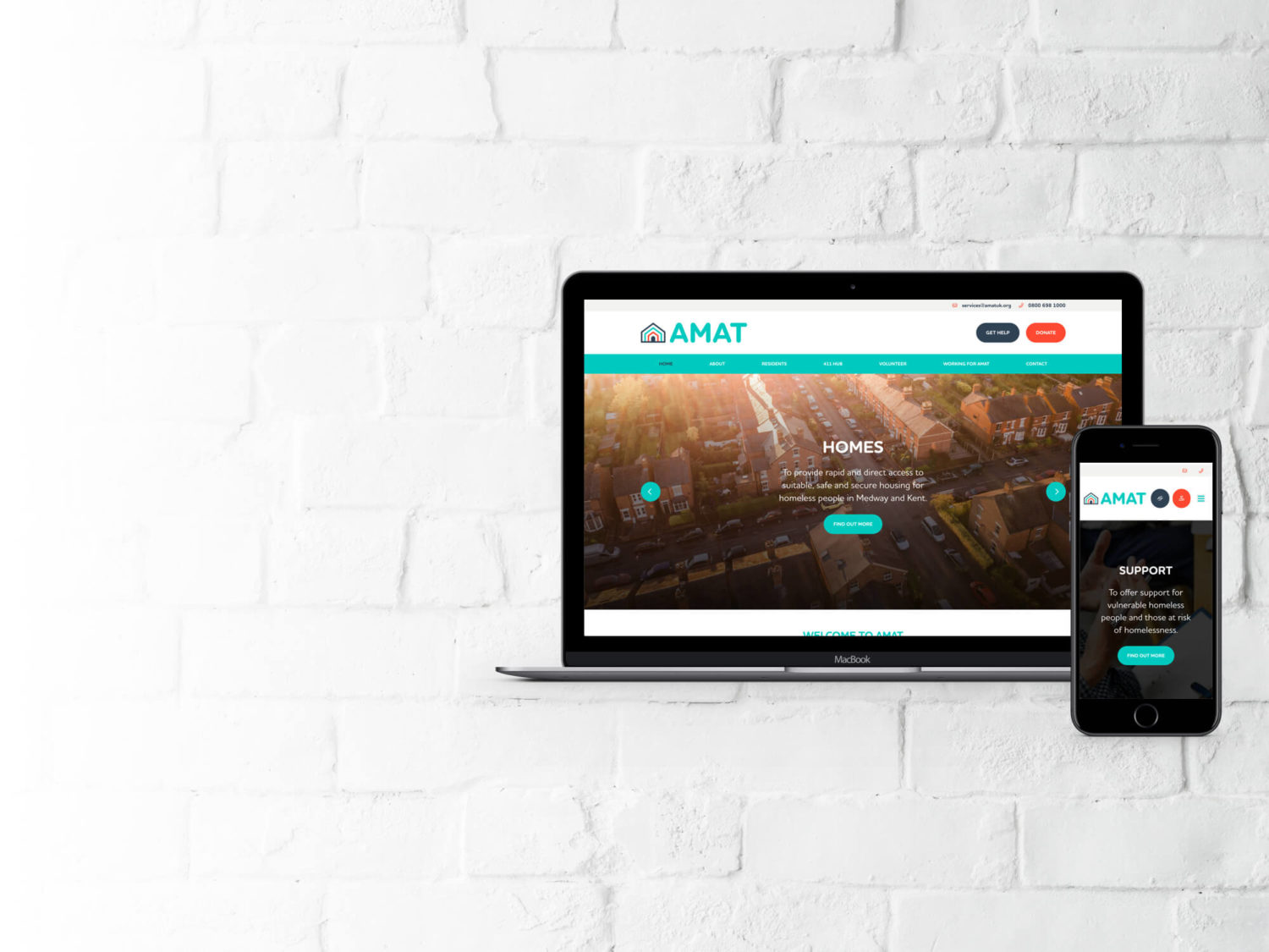 Small Business Package Website for AMAT by Supersonic Playground